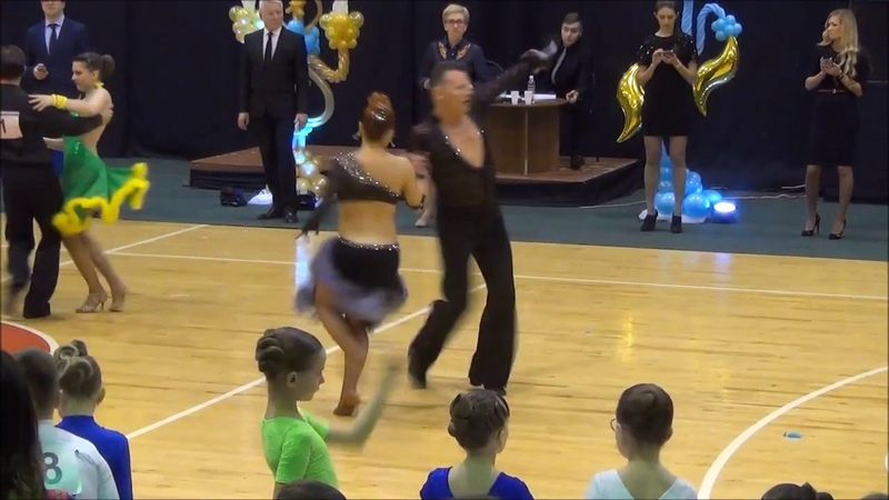 2016 Бал при свечах Юрий и Жанна Крамаревы ВзрМ Lа 3 танца Е кл