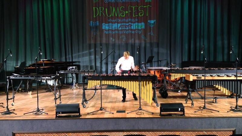 Выступление Диамента Никиты на маримбе на Международном конкурсе Парад ударных инструментов
