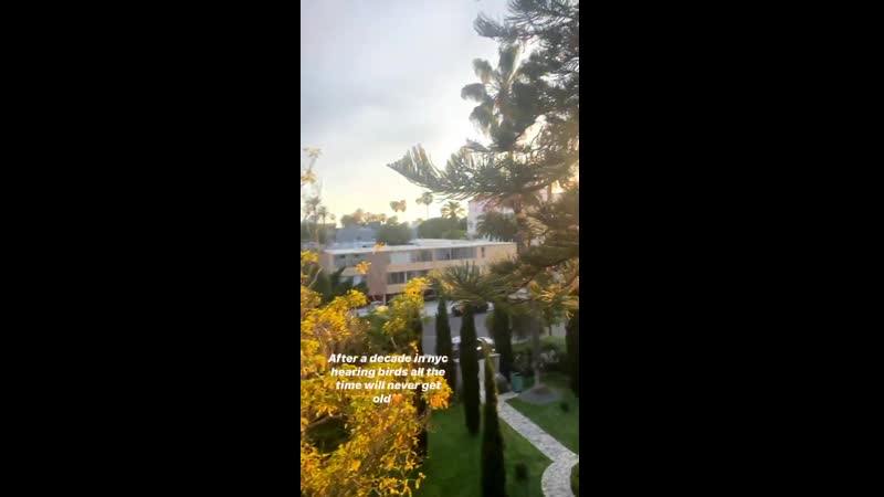 Instagram stories Toni Garrn
