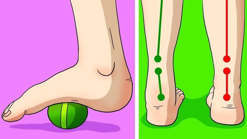 6 Упражнений Против Хронических Болей в Коленях, Ступнях и Бёдрах