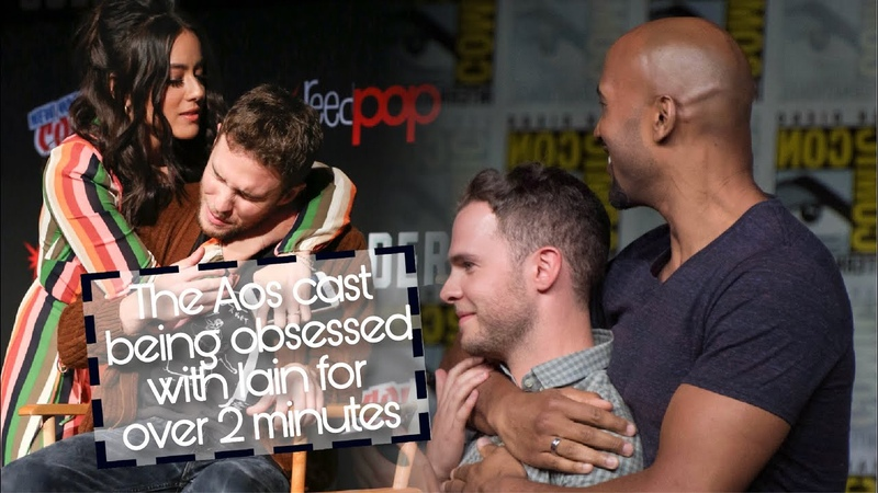 The Aos cast being obsessed with iain for over 2 minutes