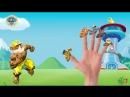 Щенячий патруль как Халк Семья пальчиков на Русском Марше Чейз, Роки, Зума Песенка про пальчики Семья пальчиков БАРБОСКИНЫ