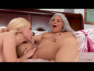 Rharri Rhound and Skylar Vox - Dont Let Dad Hear Us [Big Tits, Lesbian]