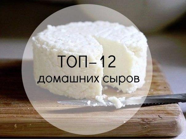 ТОП12 подборка вкусных домашних сыров 1. Домашняя моцареллаИнгредиенты на 2 порции:Молоко 1 л Натуральный йогурт 125 гСоль 1,5 ч. л.Уксусная эссенция (25%) 1 ст. л.Приготовление:Молоко с солью
