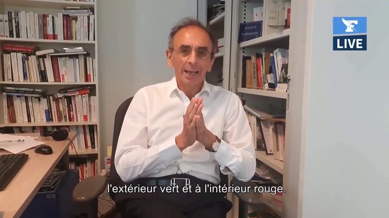 Eric Zemmour Les Verts détestent l'élection présidentielle