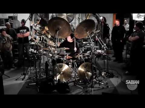 Terry Bozzio All Cymbal Drum Set with SABIAN