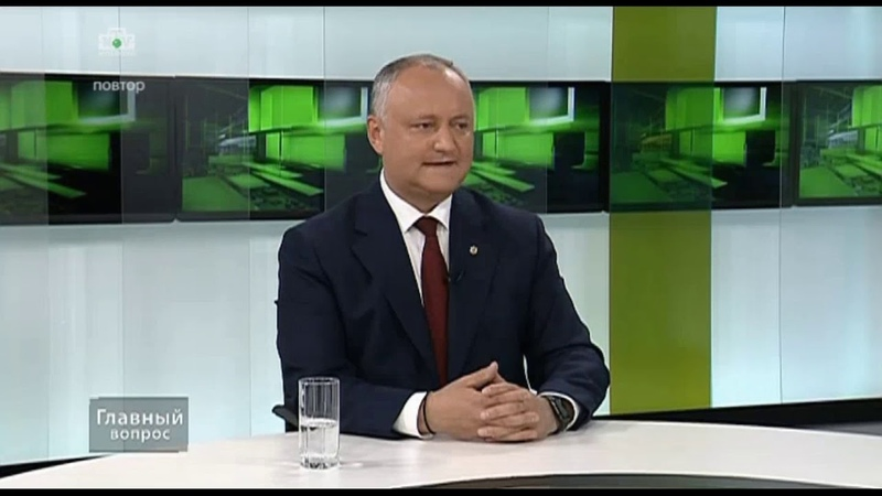Президент Молдовы отвечает на вопрос о конкретной помощи врачам во время пандемии