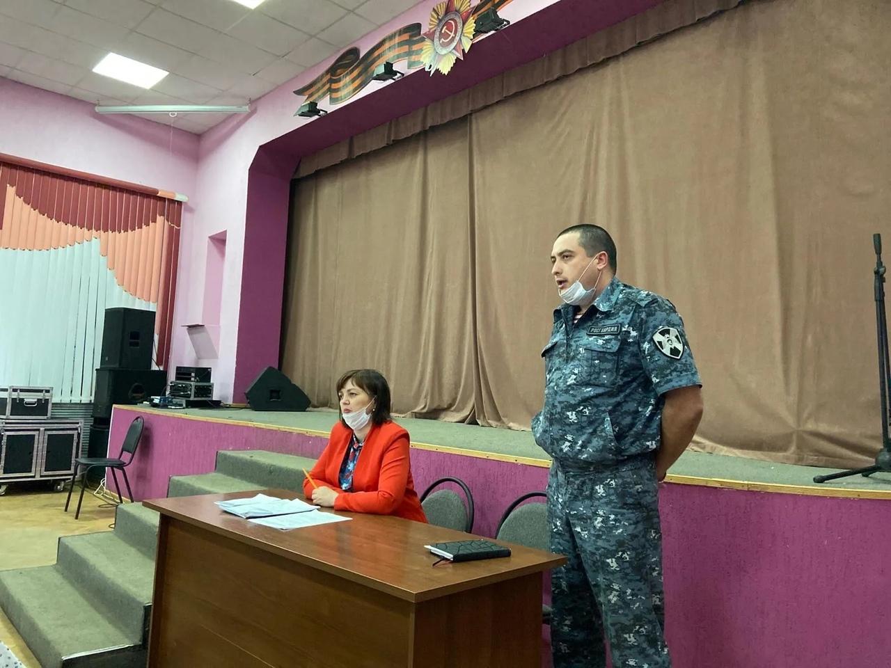 В районном Доме культуры состоялся семинар-совещание по подготовке к проведению первого июля Общероссийского голосования