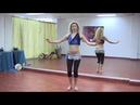 StepFlix Belly dance Level 1 basic step 16 omi or small hip circles
