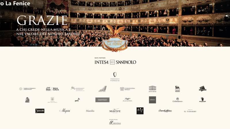 Teatro La Fenice Juraj Valčuha Orchestra del Teatro La Fenice Debussy Mussorgsky Venezia 27 02 2021