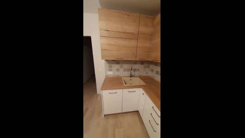 Новая кухня в новой квартире