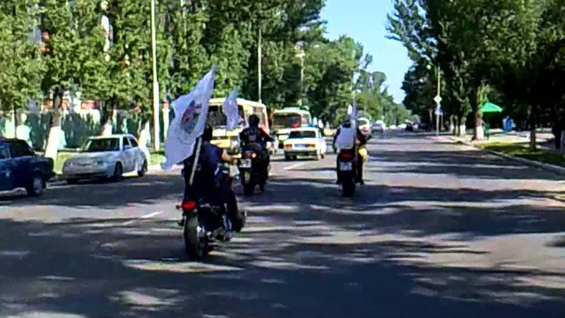 Велопробег Балашов 2013 РЖД