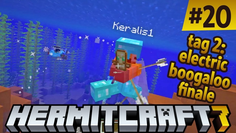 Hermitcraft 7 Tag 2 Electric Boogaloo Finale vs @xisumavoid and @Keralis! Buzzy day! ep 20