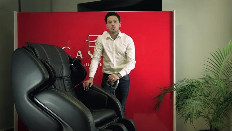 Betasonic Презентация массажного кресла Casada