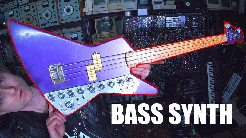 BUILDING A DIY BASS GUITAR SYNTHESIZER WITH A SID CHIP