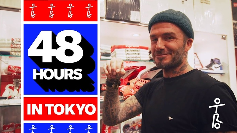 David Beckham Takes OTRO on a Tour of Tokyo 48 Hours in Tokyo