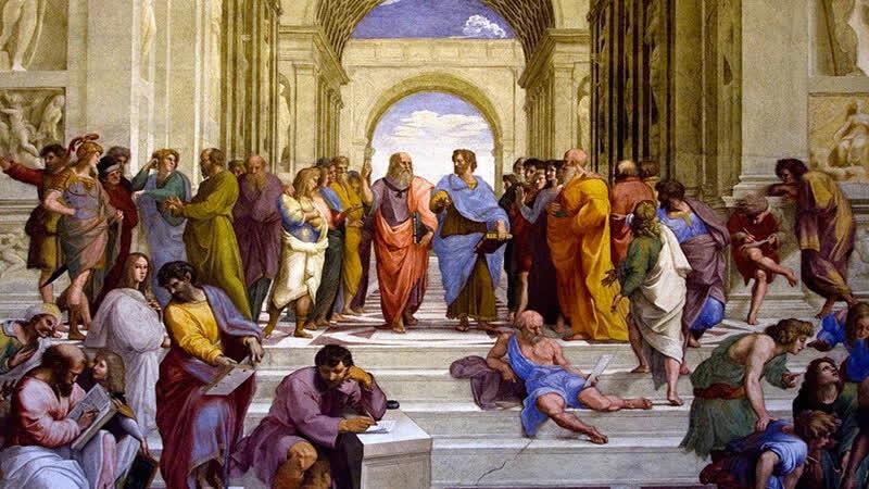 4 Аристотель Афинская Школа
