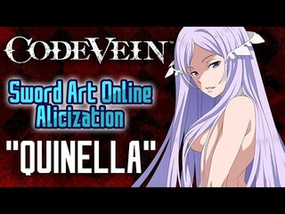 Code Vein Character Creation: Quinella (Sword Art Online Alicization)
