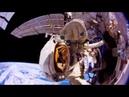 Таймлапс облёта Земли МКС, во время выхода космонавтов в открытый космос.