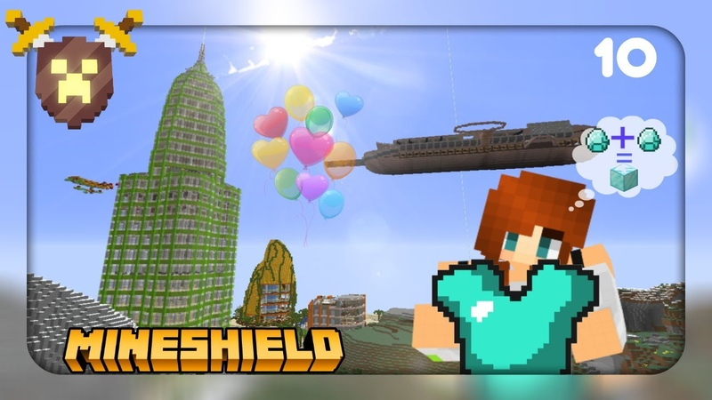 MineShield 10 👚 Бутик Шмоточка в небоскребе Нео