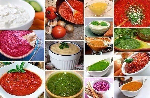 22 вида соусов, которые прекрасно дополнят любое ваше блюдо!