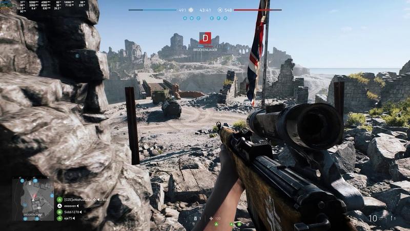 Battlefield V - RTX Gameplay 1440p / 9900K @ 5.2 Ghz / RTX 2080 Ti @ 2070/8000