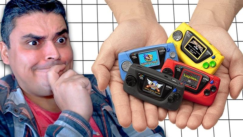 Game Gear Micro Chegando e o Stadia da Sega