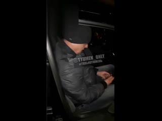 Неадекватный пассажир такси