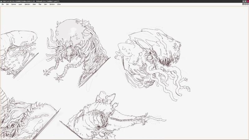 Sketching processYaroslav Hahalev