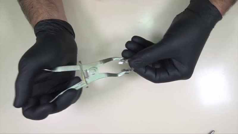 Индивидуализация щипцов для установки клампов коффердама. Calin Pop (Абу-Даби)