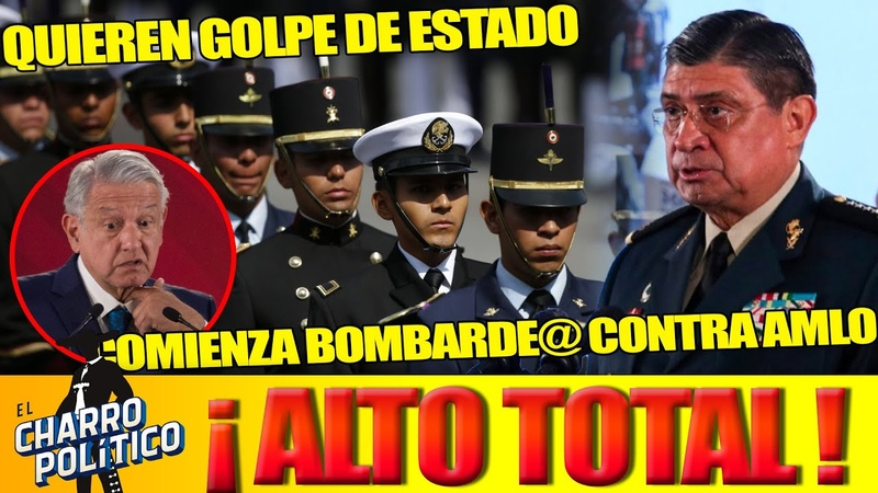 Ex Teniente Militar Vuelve a Incitar UN GOLPE DE ESTADO ¡Prensa Internacional Pide Amlo Sanciones