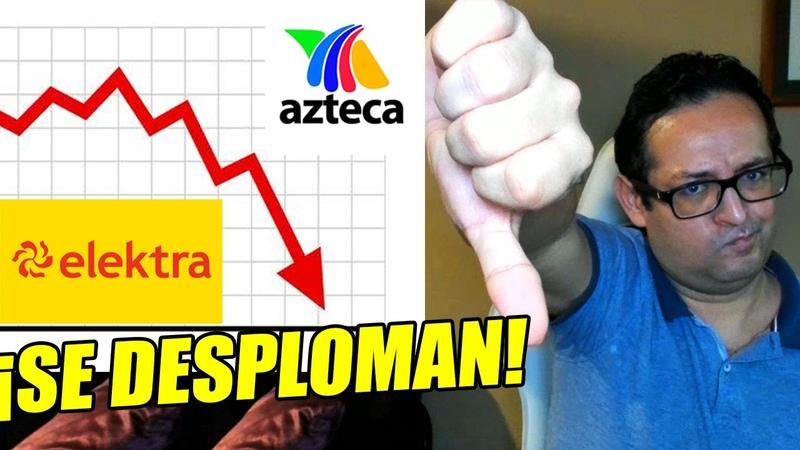 Se desploman Elektra y TV Azteca Cayó utilidad ¡casi 100% Funcionó boicot masivo