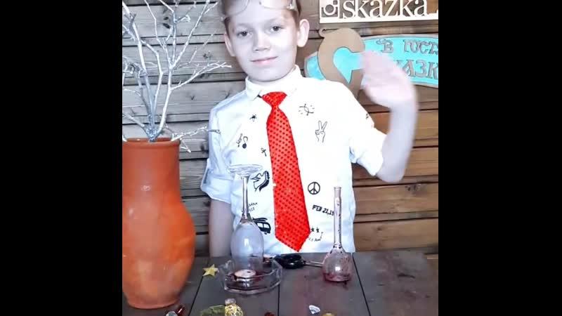 Шевель Степан юный химик