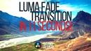 Fast easy Luma Fade Transition in Davinci Resolve 16.2