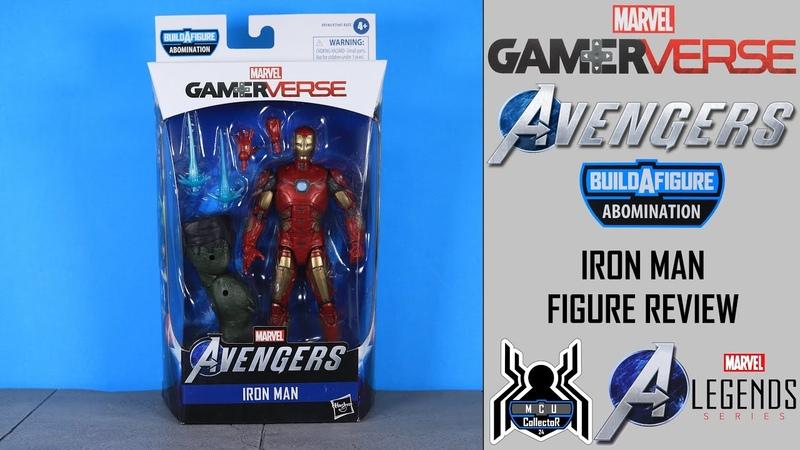 Marvel Legends IRON MAN Avengers GamerVerse Abomination BAF Wave Figure Review