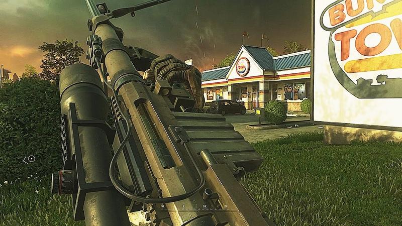 Defending Burger Town Call of Duty Modern Warfare 2 Remastered