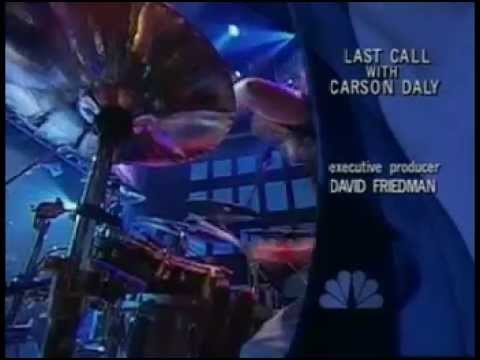 Deftones Minerva Live in Last Call with Carson Daly NBC Studios New York USA 26 11 2003