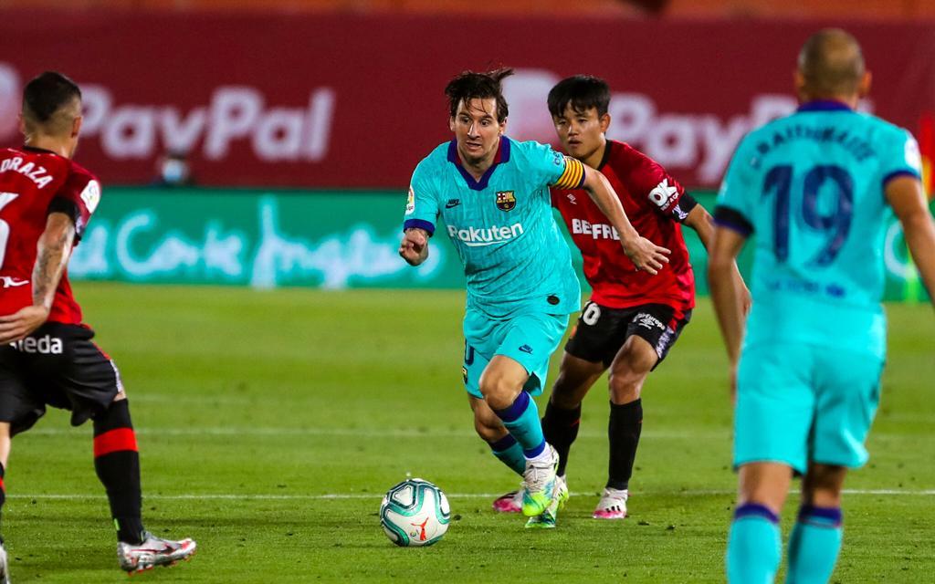 Барселона - Мальорка, 4:0. Лионель Месси