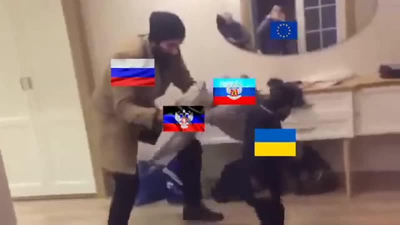 Реальные действия украинских войск под Донбассом