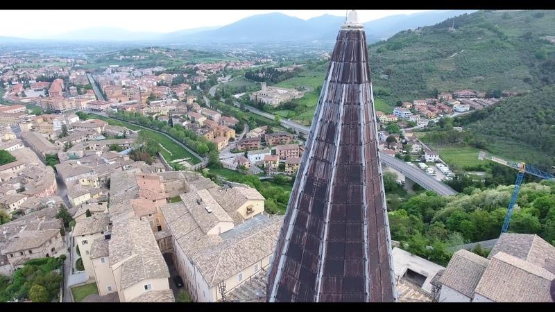 La città di SPOLETO Perugia in Umbria