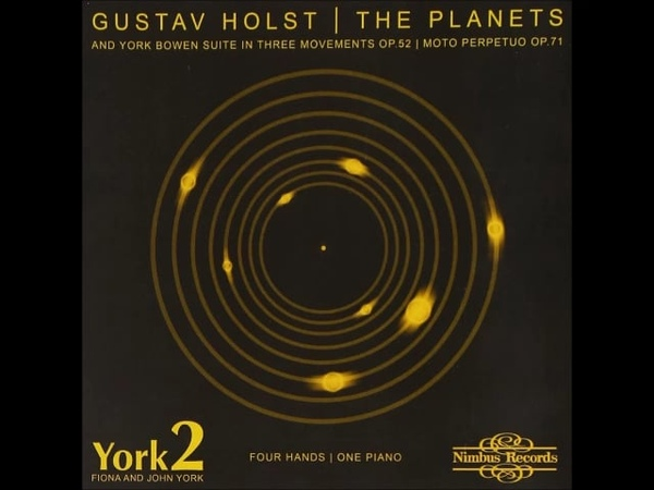 Gustav Holst Jupiter, celui qui apporte la gaieté Piano 4 mains on Vimeo