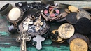 Два золотых креста и бусины из золота Поиск золота на пляже 2020 с Equinox