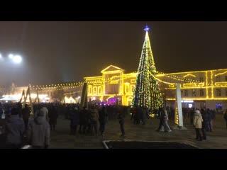 Площадь Ленина 22 декабря 2019