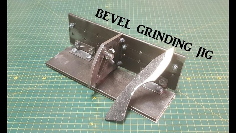 DIY Bevel Grinding Jig