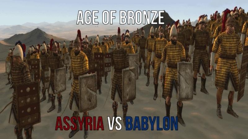 Total War Rome II: Age of Bronze Mod Clash In The Desert Assyria vs Babylon