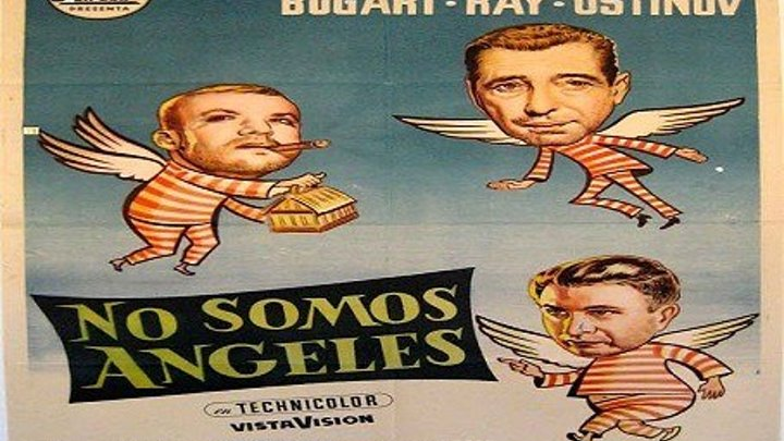 NO SOMOS ANGELES 1954 de Michael Curtiz con Humphrey Bogart Peter Ustinov Aldo Ray Joan Bennett by Refasi