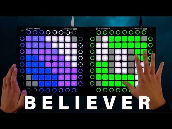 BELIEVER - Imagine Dragons Launchpad Remix Ft. NSG Romy Wave