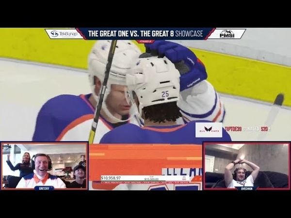 'Great'est Moments From Wayne Gretzky vs Alexander Ovechkin NHL 20 Challenge