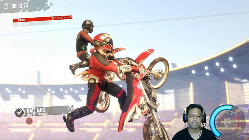 MX Nitro 7 Deep in the Dunes Beat The Boss Balapan Motor Trail Seru Unleashed Gameplay