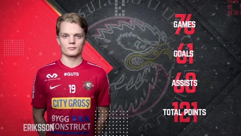 Filip Eriksson floorball highlights